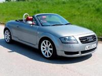 FACELIFT AUDI TT 1.8T QUATTRO 225 ROADSTER | ONLY 82000 MILES| 10 SERVICE STAMPS