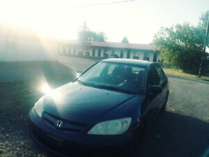 Honda civic 2005 manel 5 vitesse sepical edition