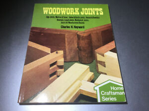 Woodwork Joints by Charles Hayward 1979 Sterling Publishing