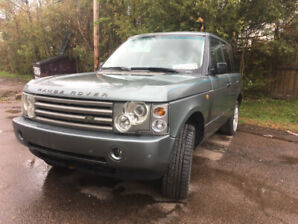 UPDATED!!  Parts or Repair  2003 Range Rover HSE.