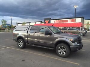 Contractor Truck Canopy with Ladder rack