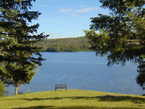 Waterfront on Big Lake in the heart of the Cariboo