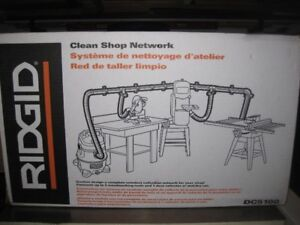 Ridgid dust collection system