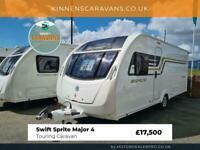 2016 Swift Sprite Major 4 Touring Caravan