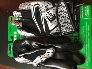 Football shoes and gloves