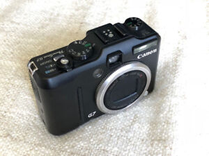 Canon G7, 10MP, 6X Optical Zoom, IS, Black