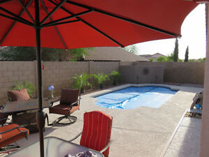 ARIZONA -HEATED POOL!  3 BEDROOM IN QUIET BUCKEYE