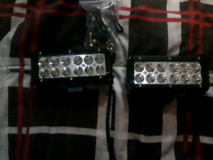 Two small light bars