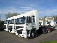 LARGE CHOICE OF 2010 (60) DAF FT CF85.360 4X2 TRACTOR UNITS