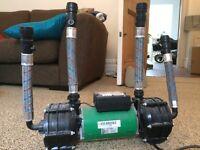Salamander RSP100 Twin Shower Pump