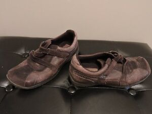 Women's Brown Leather and Suede Shoes