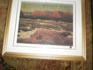 "Tom Thomson "" Petewawa Gorges - 1915 "" Limited Edition Print Kitchener / Waterloo Kitchener Area image 10"
