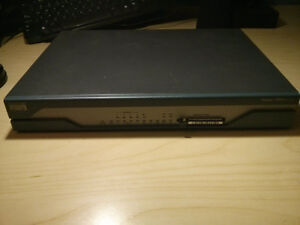 Cisco 1811 Integrated Services Router - 5 Total, $150 each