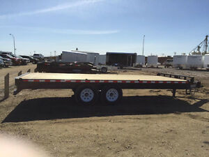 NEW 2015 SureTrac 8.5x20 HD Deckover Trailer 15kGVW