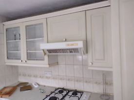 Free gas hob and extractor