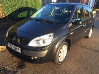 RENAULT GRAND SCENIC 1.9 DIESEL 2007-MOT MAY 2017-CHEAP CAR £825