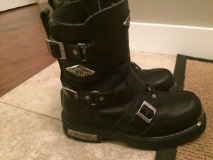 Mens Harley Boots - Size 9