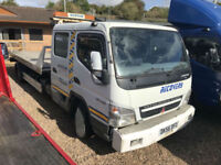 2006 Mitsubishi Canter double recovery truck 7.5 tonn tilt slide bed PX