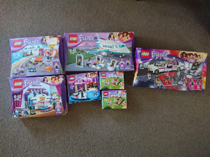 Lego Friends Sets Boxed Instructions In Ipswich Suffolk Gumtree