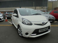 2013 63 Toyota AYGO 1.0 VVT MOVE WITH STYLE 5dr 58K FTSH SAT NAV BLUETOOTH LED's