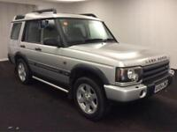 2004 Land Rover Discovery 2.5 TD5 ES Premium 5dr (7 Seats) Diesel silver Automat