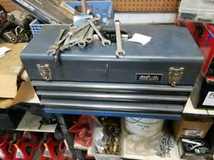 4 drawer plus top metal tool box