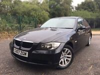 2007 BMW 318D ES 120.7BHP 6SPEED 20 STAMPS FULL BMW SERVICE HISTORY MOT 23/02/2017