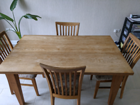 Table and 4 chairs. Offers Considered.