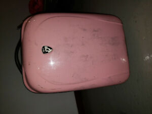 Small Pink Luggage