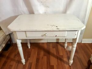 Antique table perfect for computer or crafts