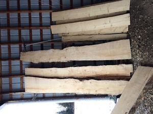 Live edge wood slabs  /Alaskan chainsaw mill