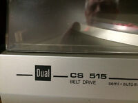 Dual CS 515 Turntable Belt Drive Semi-Automatic Made in Germany