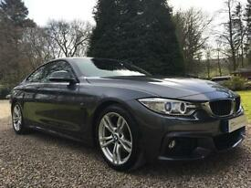 STUNNING BMW 4 SERIES 430d M SPORT COUPE 3.0 255ps AUTO COUPE