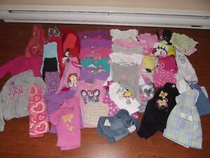 Girls cloting sizes 3 to 4t