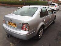Vw Bora 1.9 diesel, £799.