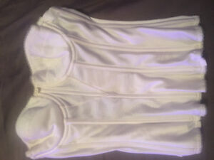 Ivory bustier- bridal (never been worn)