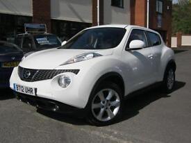 2012 12-Reg Nissan Juke 1.5dCi ( 110ps ) Acenta,ALPINE WHITE,GEN 30,000 MILES!!!