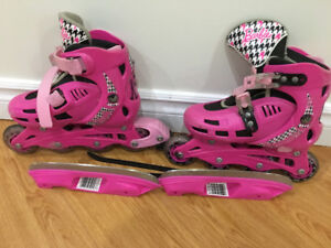 Barbie Girls' 2-In-1  Skates