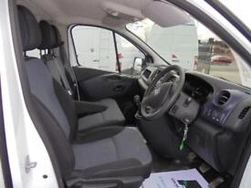 Vauxhall Vivaro 2900 1.6Cdti 115Ps H1 Doublecab DIESEL MANUAL WHITE (2016)