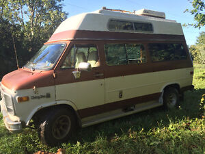 1980 Chevy! Camper Van in excellent condition-76960 kms