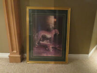 Framed Picture of Leopard