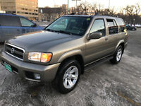 2003 Nissan Pathfinder LE SUV,  new safety command start, $5500