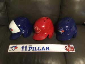 Toronto Blue Jays Game Worn Used Helmets