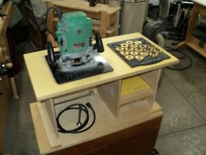 COMPLETE WOOD WORKERS ROUTER SET-UP