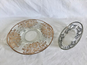 Antique Dining Platter and Dish Set.