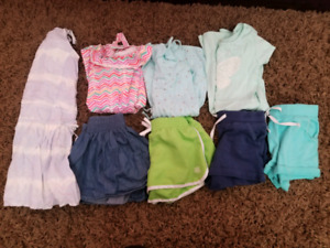 Girls Size 5/6 Summer Clothing Lot only $25