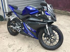 Yamaha YZF RS 125 new shape only 1400 miles 2 owner
