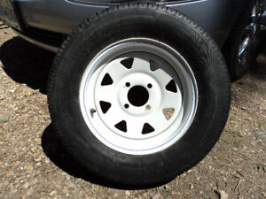 *NEW* Trailer wheel and tire