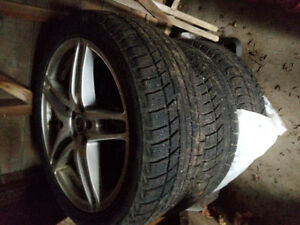225 / 45 R18 Winter Tires with Rims
