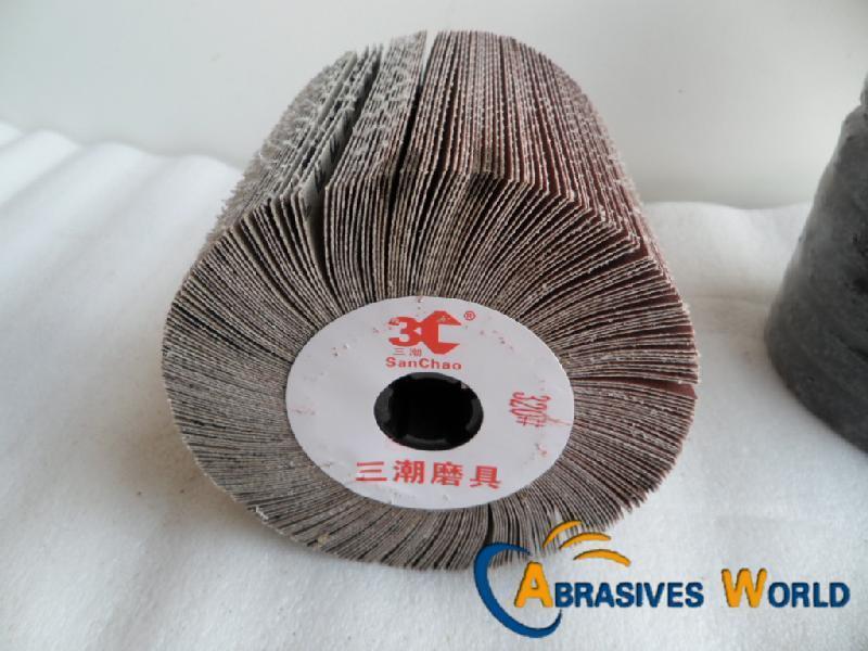 115mmx100mm Drum Abrasive Sanding Cloth Polishing Wheel